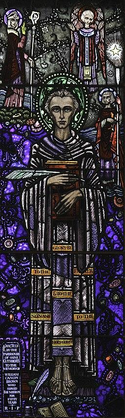 St_Cuthbert's_Church_Venerable_Bede_window,_Durham_by_Lawrence_OP